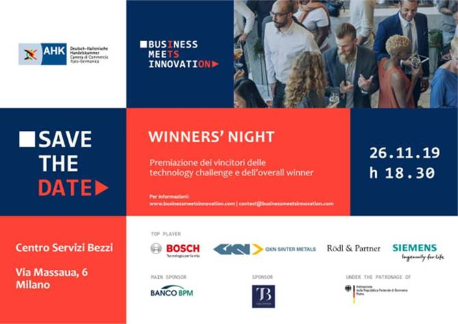 Business meets Innovation: Winners' Night