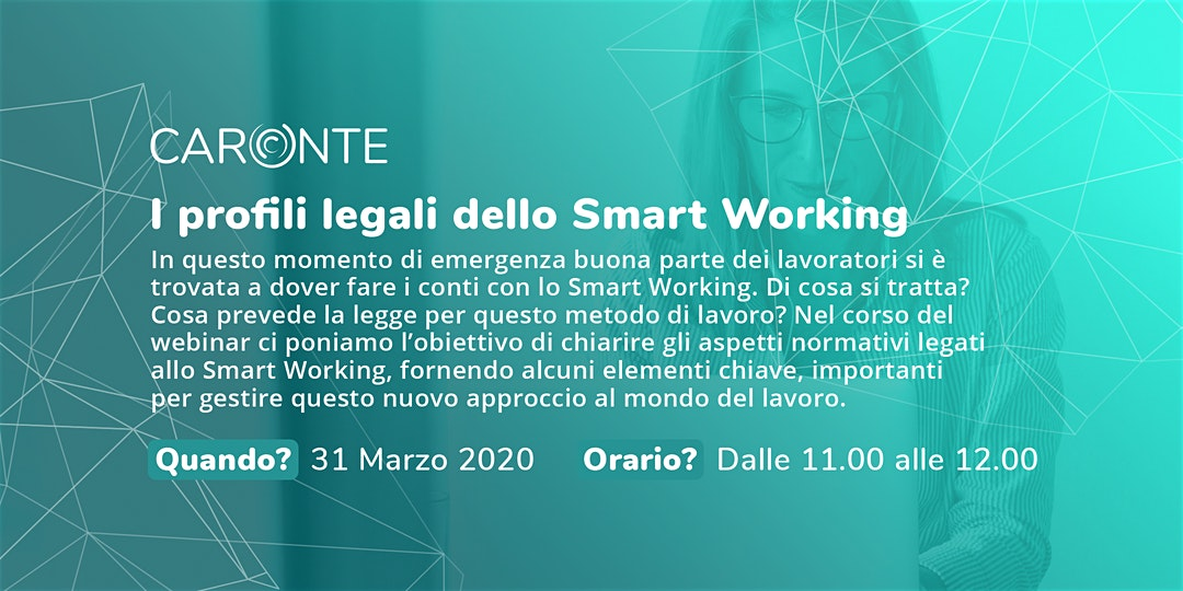 I profili legali dello Smart Working