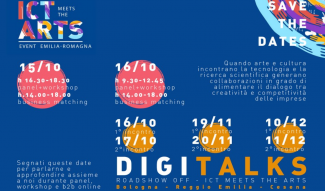 Ciclo di eventi: ICT meets the Arts & DIGITALKS