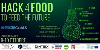 HACK4FOOD | To Feed the Future - Online Hackathon call for solutions