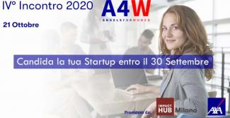 Angels4Women: al via la call per startup femminili
